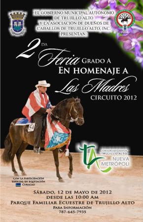 2da Feria Grado A En Homenaje A Las Madres Circuito 2012